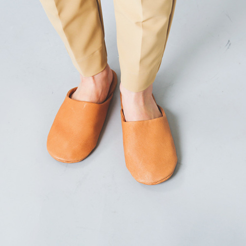 "sonor(ソナー)ピッグスキンスリッパ""SLIPPERS LADY"" slippers-lady"