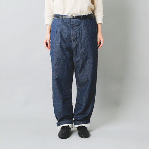 Manufactures&Co.(マニュファクチャーズアンドコー)デニムワーカートラウザーズパンツ worker-trousers
